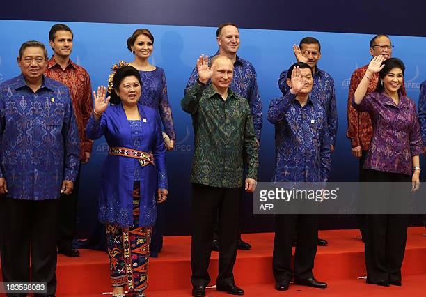 Indonesia's President Susilo Bambang Yudhoyono First Lady Ani Yudhoyono Russia's President Vladimir Putin Vietnam's President Truong Tan Sang...