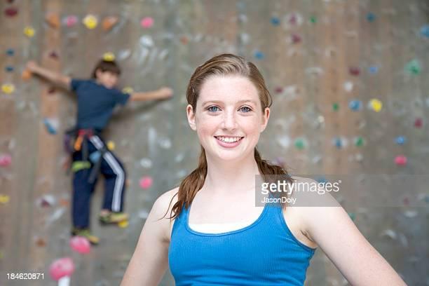 Indoor-Kletterer