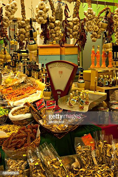 Indoor food market Florence Italy