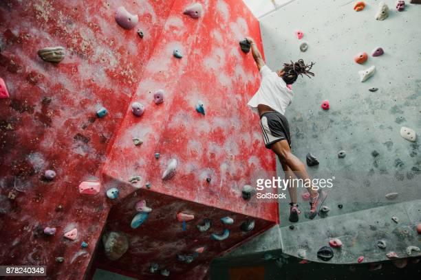 Indoor Rock Climbing Sitzung
