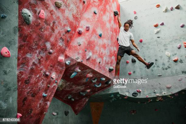 Indoor Rock Climbing Session