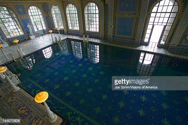 Indoor Roman Pool at Hearst Castle San Simeon California where many celebrities went swimming