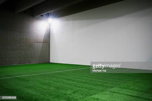indoor soccer field - turf stock pictures, royalty-free photos & images