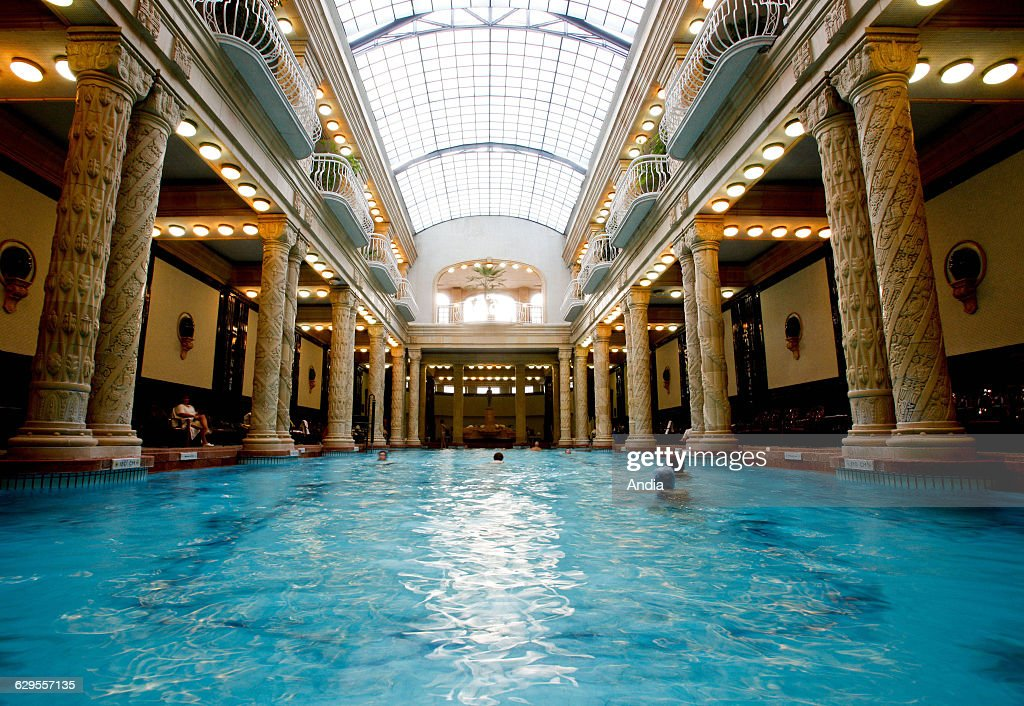 Gellert Baths Stock Photos and Pictures | Getty Images