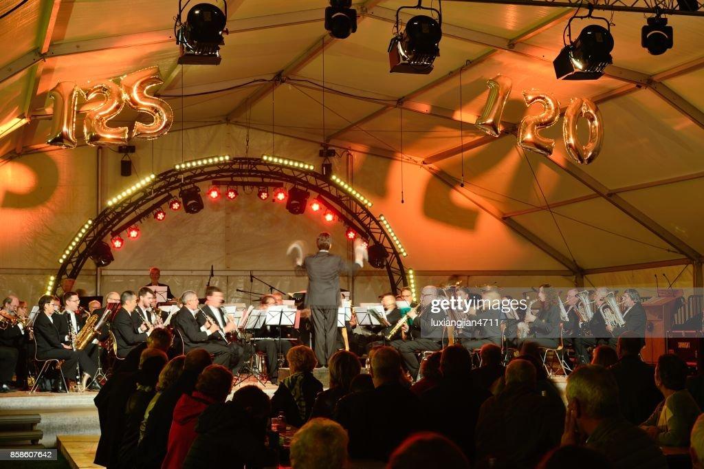 Indoor Sinfoniekonzerte für Feier : Stock-Foto