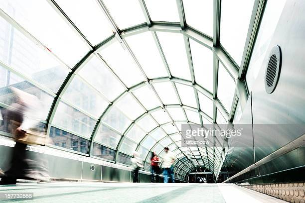 indoor walkway - ontario canada stock pictures, royalty-free photos & images