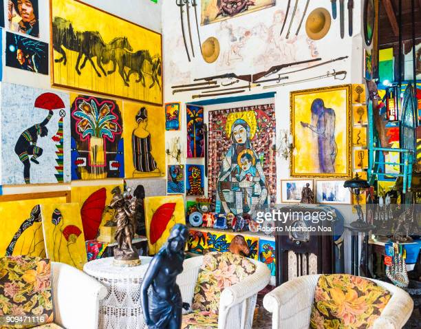 Indoors at Ileana Sanchez house She is a Cuban artist with a passion for antiques The open doors and her welcoming of visitors have made the place a...
