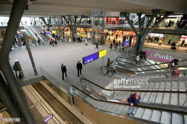 Indoorview of the Berlin central station