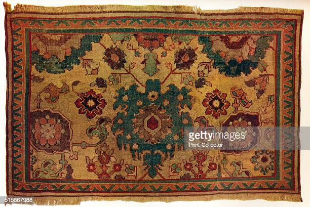 IndoPersian rug circa 1570 From The Connoisseur Volume LXXXI [The Connoisseur Ltd London 1928] Artist Unknown