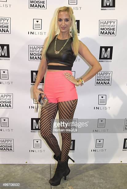 Indra Patel attends InList 1 Year Anniversary and Moishe Mana Birthday at Mana Wynwood on December 2 2015 in Miami Florida