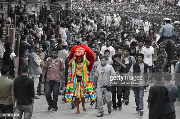 CONTENT] IndraJatra is a festival celebrated in September and is named after Lord Indra who is known as the God of rain and also as king of heaven...
