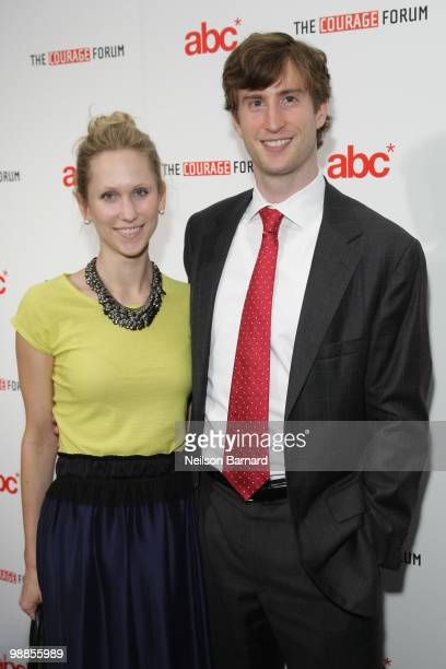 Indre and Justin Rockefeller attend The Americas Business Council opening dinner to celebrate the 2010 Courage Forum at Industria Superstudio on May...