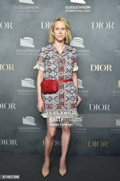 Indre Rockefeller attends the 2017 Guggenheim International Gala PreParty made possible by Dior on November 15 2017 in New York City