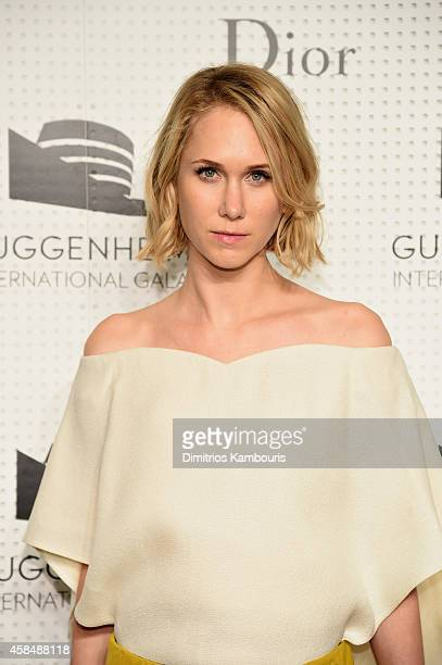 Indre Rockefeller attends the Guggenheim International Gala PreParty made possible by Dior on November 5 2014 in New York City