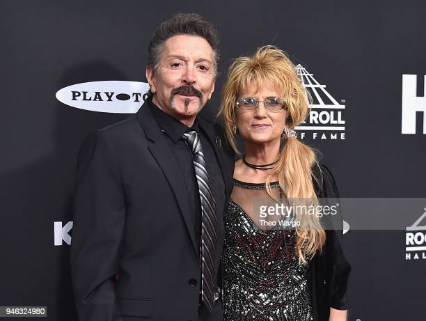 Inductee Alec John Such of Bon Jovi attends the 33rd Annual Rock Roll Hall of Fame Induction Ceremony at Public Auditorium on April 14 2018 in...
