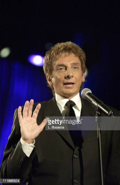 Inductee Barry Manilow during Song Writers Hall of Fame Awards 2002 at Sheraton Hotel in New York City New York United States