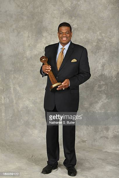 Inductee Bernard King poses for a portrait prior to the 2013 Basketball Hall of Fame Enshrinement Ceremony on September 8 2013 at the Mass Mutual...