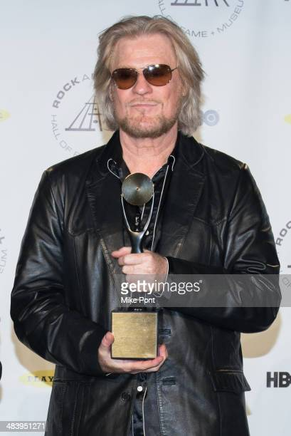 Inductee Daryl Hall attends the 29th Annual Rock And Roll Hall Of Fame Induction Ceremony at Barclays Center on April 10 2014 in the Brooklyn borough...