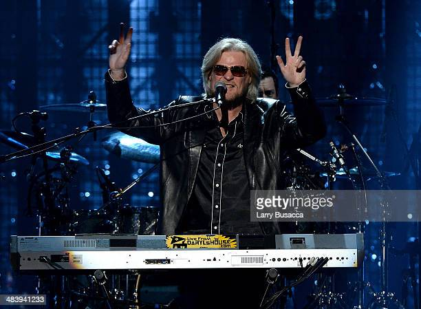 Inductee Daryl Hall of Hall and Oates performs onstage at the 29th Annual Rock And Roll Hall Of Fame Induction Ceremony at Barclays Center of...