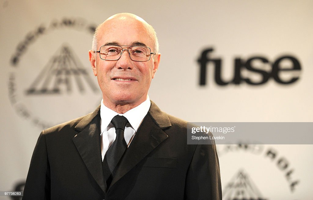 25th Anniversary Rock & Roll Hall Of Fame Induction Ceremony - Press Room : News Photo