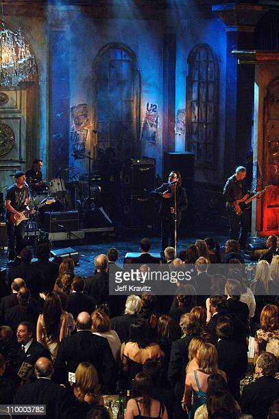 Inductee during 20th Annual Rock and Roll Hall of Fame Induction Ceremony - Show at Waldorf Astoria Hotel in New York City, New York, United States.