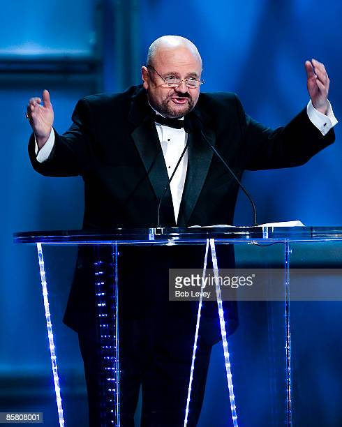 WWE 2009 inductee Howard Finkel attends the 25th Anniversary of WrestleMania's WWE Hall of Fame at the Toyota Center on April 4 2009 in Houston Texas