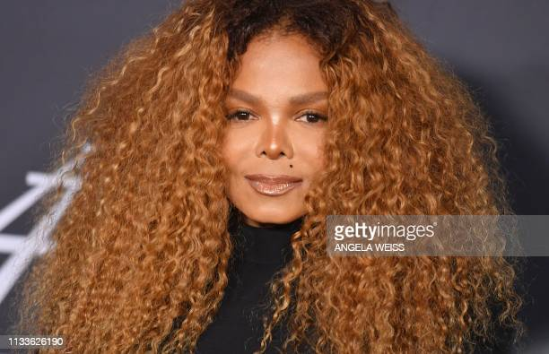 Inductee Janet Jackson attends the 34th Annual Rock Roll Hall of Fame Induction Ceremony at Barclay's Center on March 29 2019 in New York City