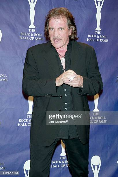 Inductee Jim Capaldi of Traffic during The 19th Annual Rock and Roll Hall of Fame Induction Ceremony Press Room at Waldorf Astoria in New York City...