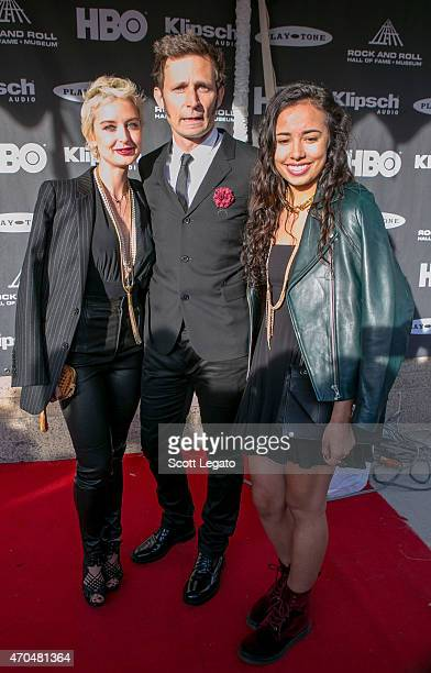 Inductee Mike Dirnt of Green Day and guests attend the 30th Annual Rock And Roll Hall Of Fame Induction Ceremony at Public Hall on April 18 2015 in...