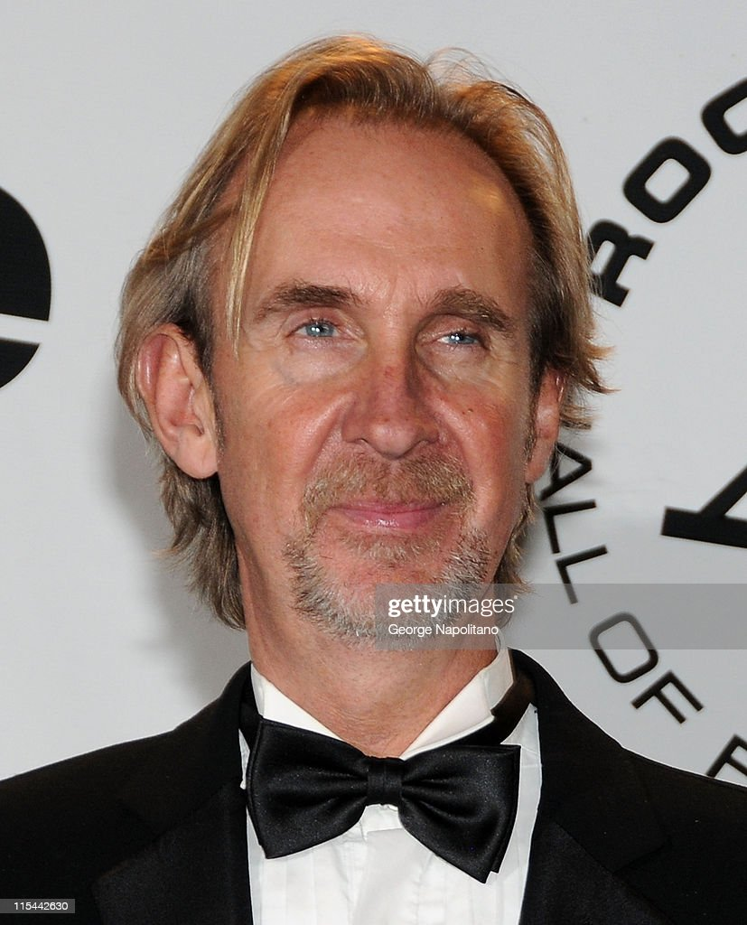 Inductee Mike Rutherford of Genesis attends the 25th Annual Rock And Roll Hall Of Fame Induction Ceremony at the Waldorf=Astoria on March 15, 2010 in New York City.