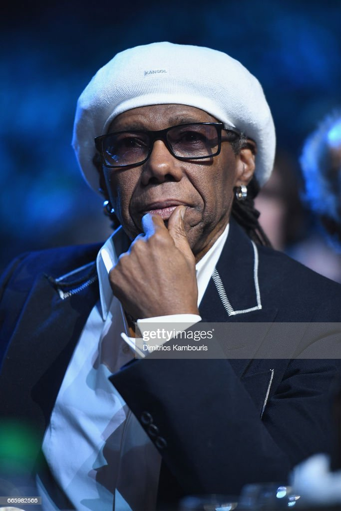 Inductee Niles Rodgers attends the 32nd Annual Rock & Roll Hall Of Fame Induction Ceremony at Barclays Center on April 7, 2017 in New York City. The event will broadcast on HBO Saturday, April 29, 2017 at 8:00 pm ET/PT