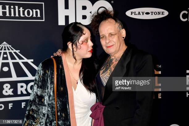 Inductee Pearl Thompson of The Cure attends the 2019 Rock Roll Hall Of Fame Induction Ceremony at Barclays Center on March 29 2019 in New York City