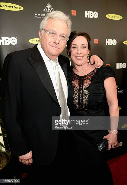 Inductee Randy Newman and Gretchen Preece attend the 28th Annual Rock and Roll Hall of Fame Induction Ceremony at Nokia Theatre LA Live on April 18...