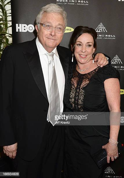 Inductee Randy Newman and wife Gretchen Preece arrive at the 28th Annual Rock and Roll Hall of Fame Induction Ceremony at Nokia Theatre LA Live on...
