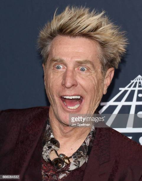 Inductee Ross Valory of Journey attend the Press Room of the 32nd Annual Rock Roll Hall Of Fame Induction Ceremony at Barclays Center on April 7 2017...