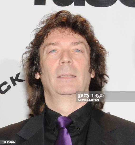 Inductee Steve Hackett of Genesis attends the 25th Annual Rock And Roll Hall Of Fame Induction Ceremony at the Waldorf=Astoria on March 15 2010 in...