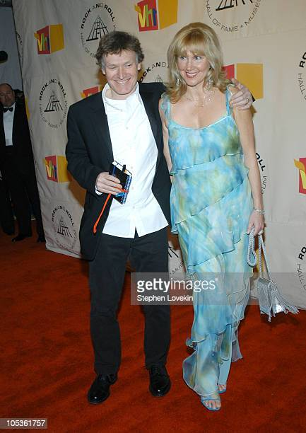 Inductee Steve Winwood of Traffic and wife Eugenia