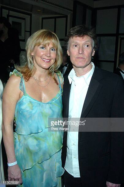 Inductee Steve Winwood of Traffic with wife Eugenia Winwood