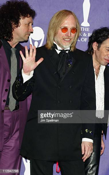 Inductee Tom Petty during The 17th Annual Rock And Roll Hall Of Fame Induction Ceremony Press Room at Waldorf Astoria in New York City New York...