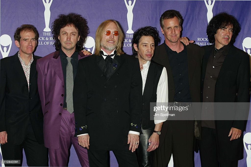 Inductees Benmont Tench, Mike Campbell, Tom Petty, Howie Epstein, Stan Lynch & Ron Blair