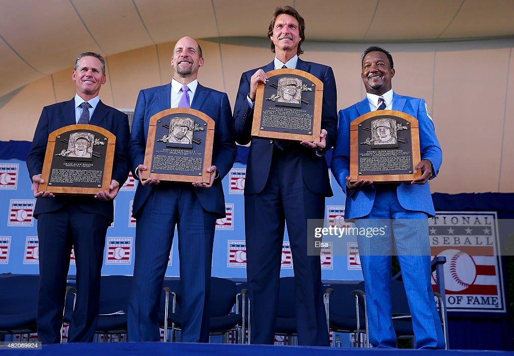 Baseball Hall of Fame Induction Ceremony : ニュース写真
