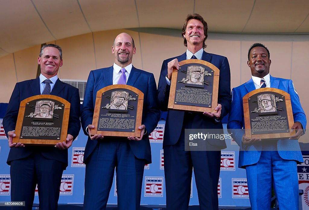 Baseball Hall of Fame Induction Ceremony : ニュース写真