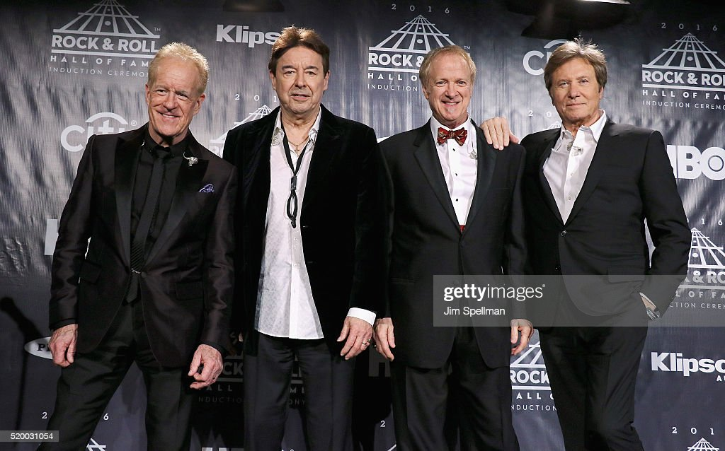 31st Annual Rock And Roll Hall Of Fame Induction Ceremony - Press Room