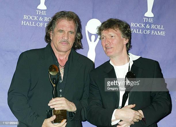 Inductees Jim Capaldi and Steve Winwood of Traffic