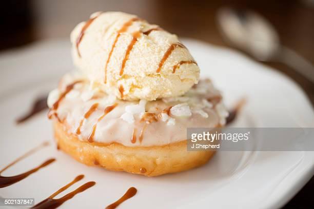 Indulgent dessert