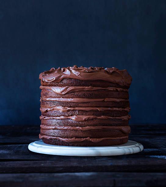 Indulgent Layered Chocolate Cake Wall Art