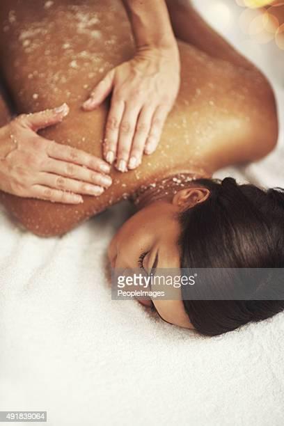 Indulging in a memorable massage