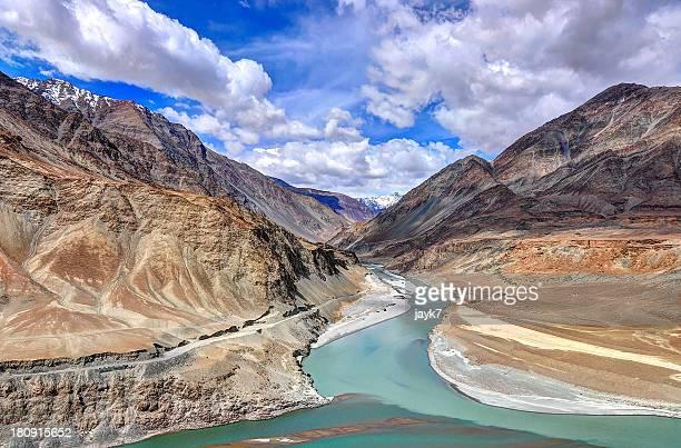 Indus and Zanskar rivers, Ladakh