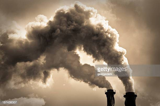 industrial air pollution - pollution stock pictures, royalty-free photos & images