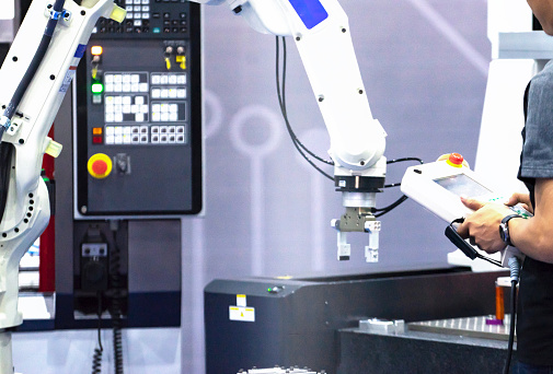 Industrial Automation in industry - gettyimageskorea